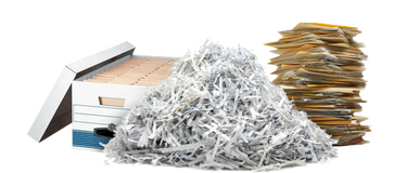 Christie Lane document destruction and shredding service, paper, hard drives, files